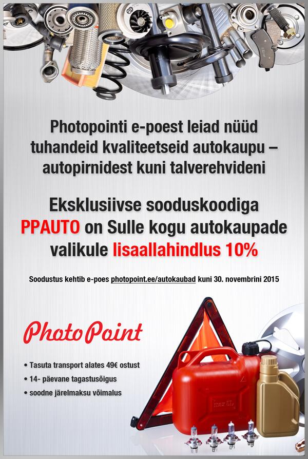 Flaieri kujundus Photopointile